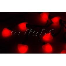 Гирлянда ARL-HEART-5000-20LED Red (220V, 5W), Arlight, 019837 , 1 штука