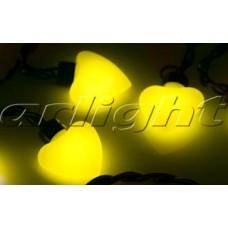 Гирлянда ARL-HEART-5000-20LED Yellow (220V, 5W), Arlight, 019838 , 1 штука
