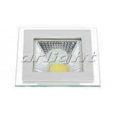 Светодиодная панель CL-S100x100TT 5W Warm White, Arlight, 017976