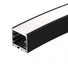 Профиль SL-ARC-3535-D1500-A45 BLACK (590мм, дуга 1 из 8), Arlight, 025522