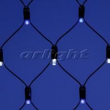 "Светодиодная гирлянда ""Сетка"" ARD-NETLIGHT-CLASSIC-2000x1500-BLACK-288LED White/Blue (230V, 18W), Arlight, 024689"