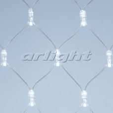 "Светодиодная гирлянда ""Сетка"" ARD-NETLIGHT-CLASSIC-2000x1500-CLEAR-288LED White (230V, 18W), Arlight, 024684"