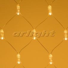 """Светодиодная гирлянда """"Сетка"""" ARD-NETLIGHT-CLASSIC-2000x1500-CLEAR-288LED Warm (230V, 18W), Arlight, 024685"""