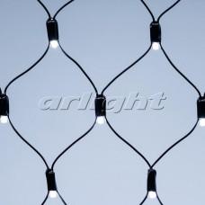 "Светодиодная гирлянда ""Сетка"" ARD-NETLIGHT-CLASSIC-2000x1500-BLACK-288LED White (230V, 18W), Arlight, 024687"