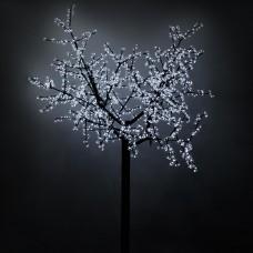 Светодиодное дерево ARD-CHERRY-2.4M-BROWN-1728LED White (220V, 100W), Arlight, 024745