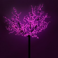 Светодиодное дерево ARD-CHERRY-PRO2-2.4M-1728LED Pink (220V, 210W), Arlight, 024746