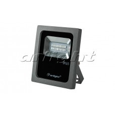 Светодиодный прожектор AR-FLG-FLAT-10W-220V Red, Arlight, 022575