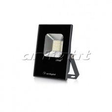 Светодиодный прожектор AR-FLAT-ICE-10W-220V Day (Black, 120 deg), Arlight, 023568