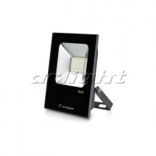 Светодиодный прожектор AR-FLAT-ICE-20W-220V Warm (Black, 120 deg), Arlight, 023575