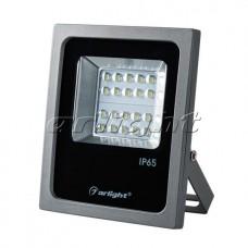 Светодиодный прожектор AR-FLAT-ARCHITECT-20W-220V Warm (Grey, 50x70 deg), Arlight, 024167