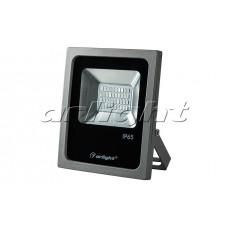 Светодиодный прожектор AR-FLG-FLAT-20W-220V Green, Arlight, 022583