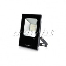 Светодиодный прожектор AR-FLAT-ICE-20W-220V White (Black, 120 deg), Arlight, 023573