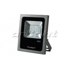 Светодиодный прожектор AR-FLG-FLAT-20W-220V Blue, Arlight, 022584
