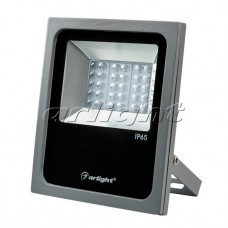 Светодиодный прожектор AR-FLAT-ARCHITECT-30W-220V Day (Grey, 50x70 deg), Arlight, 024171