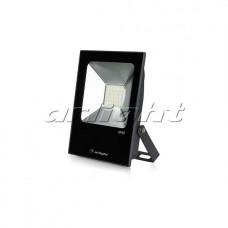 Светодиодный прожектор AR-FLAT-ICE-30W-220V Warm (Black, 120 deg), Arlight, 023581
