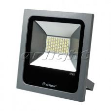 Светодиодный прожектор AR-FLAT-50W-220V Warm (Grey, 120 deg), Arlight, 023838