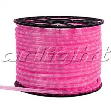 Светодиодный дюралайт ARD-REG-STD Pink (220V, 24 LED/m, 100m), Arlight, 025257, бухта 100 метров