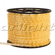 Светодиодный дюралайт ARD-REG-STD Yellow (220V, 24 LED/m, 100m), Arlight, 025256, бухта 100 метров