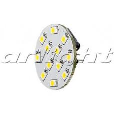 Светодиодная лампа AR-G4BP-12E30-12VDC Warm White, Arlight, 017141