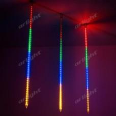 """Светодиодная гирлянда """"ТАЮЩИЕ СОСУЛЬКИ"""" ARD-ICEFALL-CLASSIC-D23-1000-CLEAR-96LED-LIVE RGB (230V, 1.5W), Arlight, 026105"""