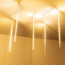 """Светодиодная гирлянда """"ТАЮЩИЕ СОСУЛЬКИ"""" ARD-ICEFALL-CLASSIC-D12-500-5PCS-CLEAR-72LED-LIVE WARM (230V, 6W), Arlight, 026050"""