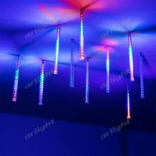 """Светодиодная гирлянда """"ТАЮЩИЕ СОСУЛЬКИ"""" ARD-ICEFALL-CLASSIC-D12-200-10PCS-CLEAR-32LED-LIVE RGB (230V, 10.5W), Arlight, 026045"""