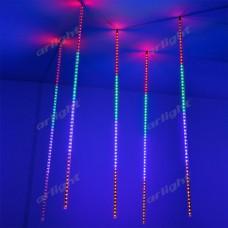 """Светодиодная гирлянда """"ТАЮЩИЕ СОСУЛЬКИ"""" ARD-ICEFALL-CLASSIC-D12-1000-5PCS-CLEAR-120LED-LIVE RGB (230V, 11W), Arlight, 026056"""