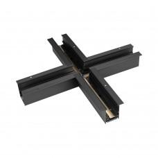 Коннектор крестовой MAG-CON-4560-F-X90 (BK), Arlight, 026923