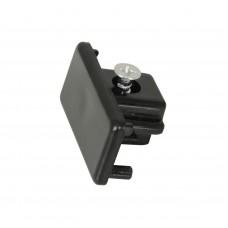Заглушка торцевая G-1-E-IP20-B для шинопровода однофазного черная, упаковка 10 штук, General, GNL581401