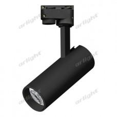 Трековый светодиодный светильник LGD-GERA-2TR-R55-10W Warm3000 (BK, 24 deg), Arlight, 025938