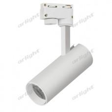 Трековый светодиодный светильник LGD-GERA-2TR-R55-10W Warm3000 (WH, 24 deg), Arlight, 025904