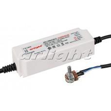 Блок питания для светодиодной ленты ARPJ-DIM241050-R (25W, 1050mA, 0-10V, PFC), Arlight, 017518