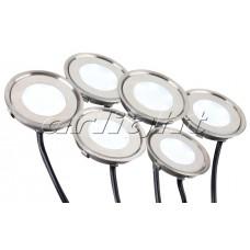 Набор KT-R-6x0.5W LED White 12V круг, Arlight, 018239