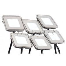 Набор KT-S-6x0.6W LED White 12V квадрат, Arlight, 018232