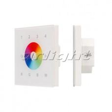 INTELLIGENT ARLIGHT Панель ZW-118-RGBW-4Z-IN (100-240V, 4 зоны), Arlight, 025620