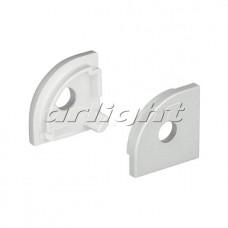 Заглушка SL-KANT-H16 ROUND с отверстием, 1 комплект , Arlight, 024483