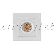 Светильник CL-KARDAN-S102x102-9W Warm (WH, 38 deg), Arlight, 024137