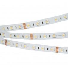 Лента RT 2-5000 24V RGBW-One White 2x (5060, 300 LED, LUX), бобина 5 метров, Arlight, 019096(1)