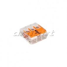 Клемма 221-413 (3 провода, 4мм), Arlight, 025720, упаковка 50 штук