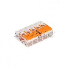 Клемма 221-415 (5 проводов, 4мм), Arlight, 025721, упаковка 25 штук